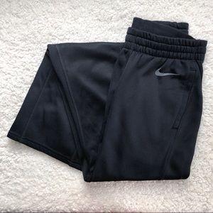 Nike Black Wide Leg Sweatpants Size XS